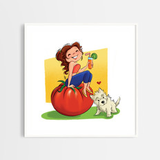 Veggie Girl Nutritionist by Fernanda Cam