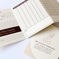 Cartão Pré-Natal para DR. ELTON FERREIRA
