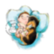 ilustracao infantil confeitaria de convi