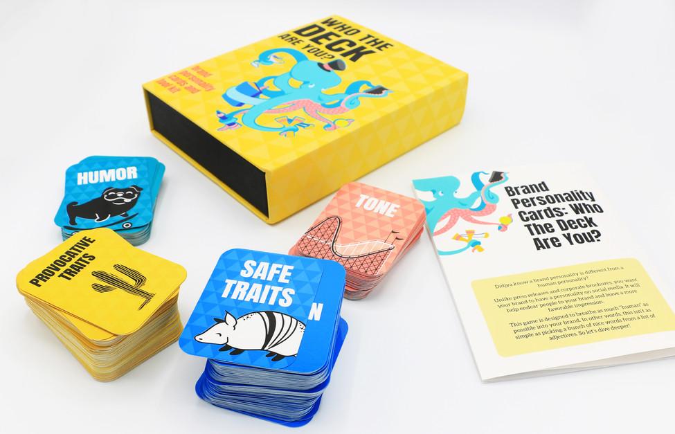 Jogo de cartas de BRANDING