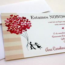 PARA IMPRIMIR - convite de noivado