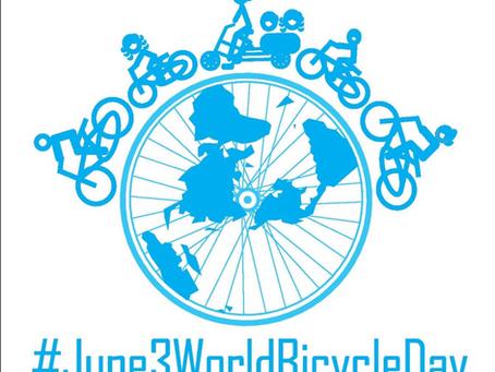 今日は世界自転車デーです!