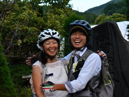 日本海と太平洋の塩が出会う「塩の道サイクリング」