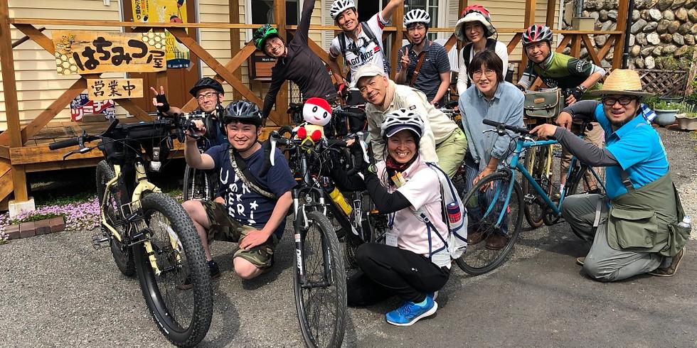 辰野のんびりサイクリング vol.1 ほたる遊ぶ甘い川ルート
