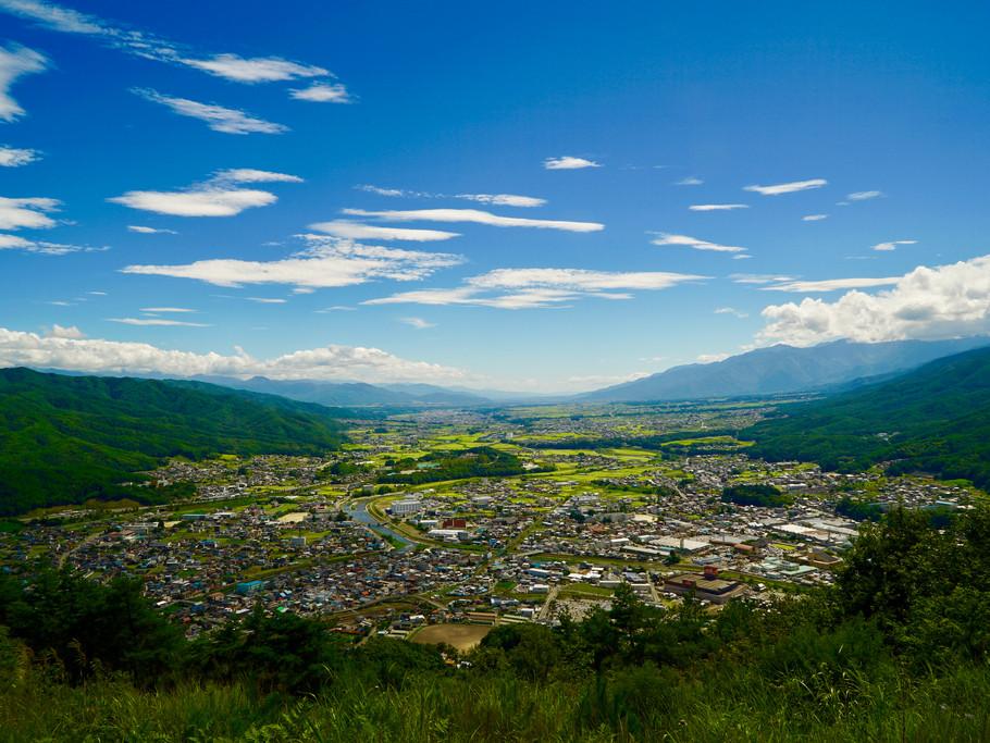日本の中心・辰野町