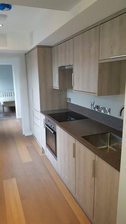 Galley Kitchen Flat 4