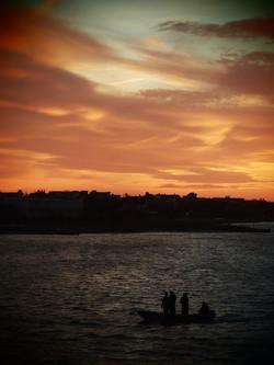 Sunset, Moriches Bay NY