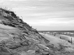 Winter dune, Cupsogue.