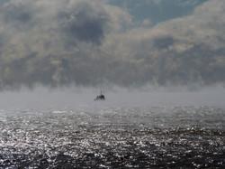 Sea smoke, Shinnecock NY