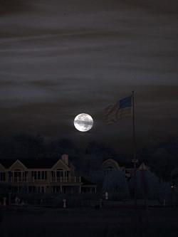 Moon flag, Westhampton Beach NY