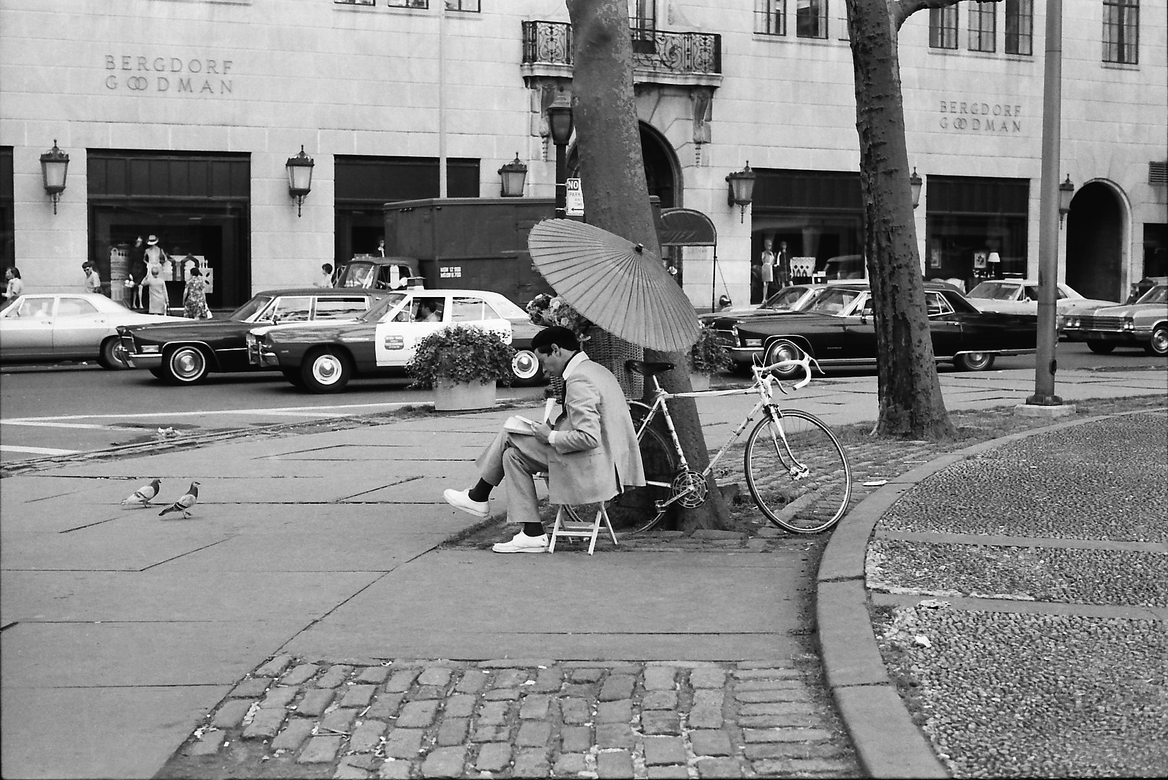 NYC43 Biker, Bergdorf's