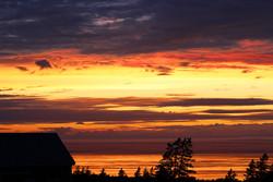 Bay of Fundy sunset