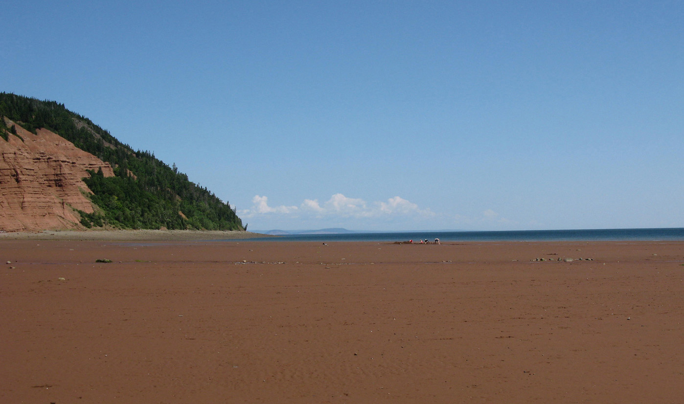 Low tide, Blomidon NS