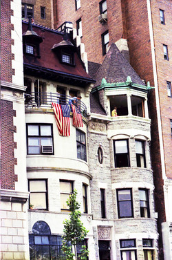NYC40 W 76th St, July 4 1976