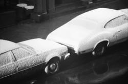 snow on cars w 76th