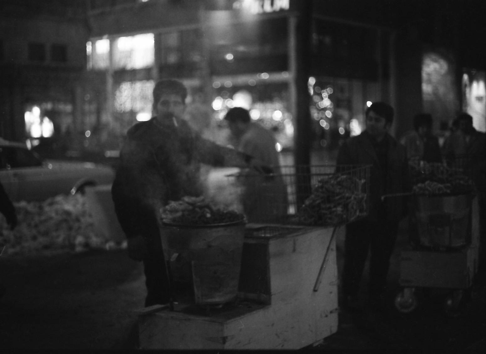 NYC10 Mid-town pretzel venders
