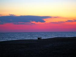 Sunset, Rogers Beach NY