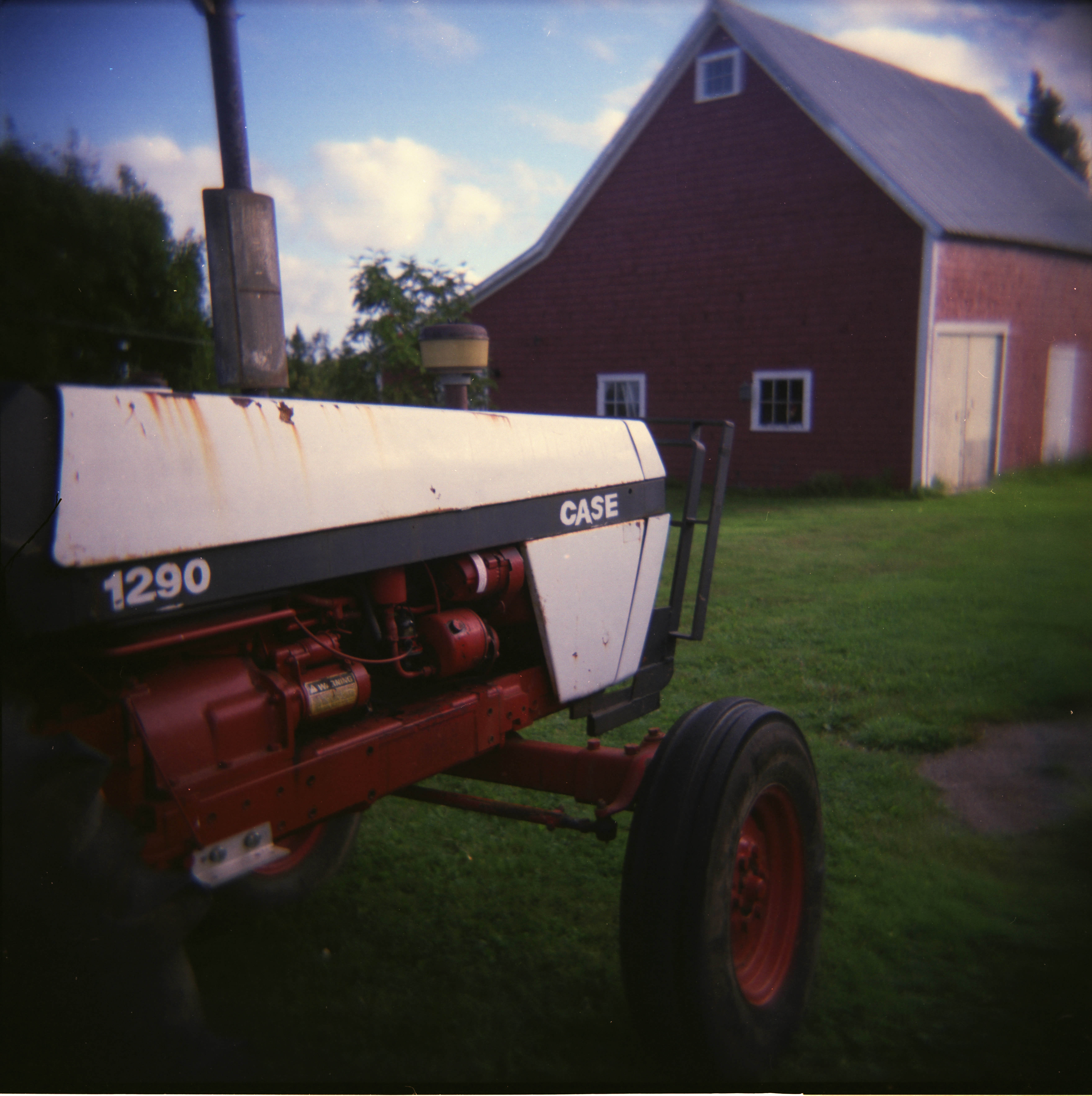 Jerry's tractor.