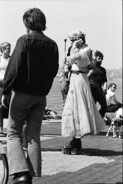 NYC9 Rollerena, Morton Street pier