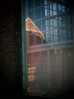 Reflections, old mill.