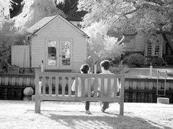 Westhampton Beach bench.
