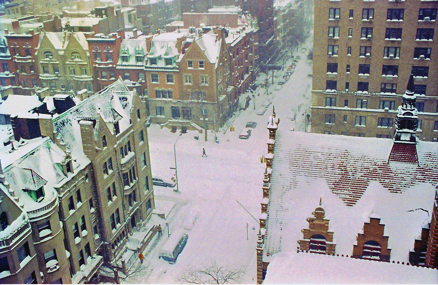 NYC71 Blizzard, W 77th and West End