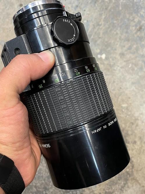 Sigma Mirror 1000mm f/13.5 lens