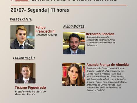 """WEBINÁRIO IGP: """"Processo legislativo e garantias fundamentais"""""""