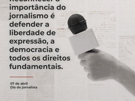 07 de abril . Dia do Jornalista