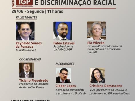 Webinários IGP: Violência doméstica e discriminação racial