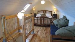 chambre étage avec lit appoint