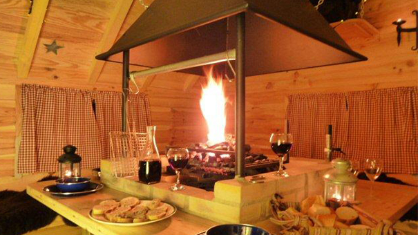 Cabane barbecue