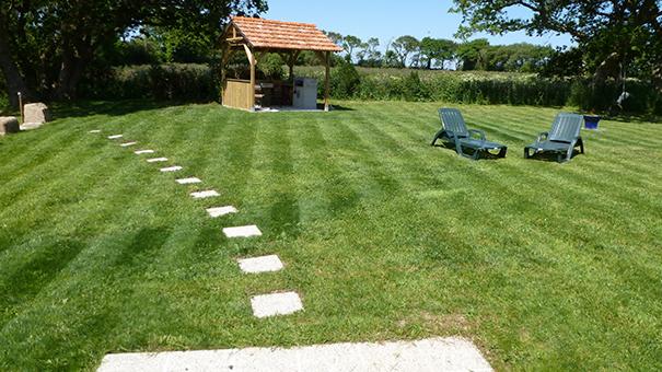 Jardin + barbecue