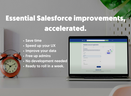 How to make fast improvements to your Salesforce site with Accelerators