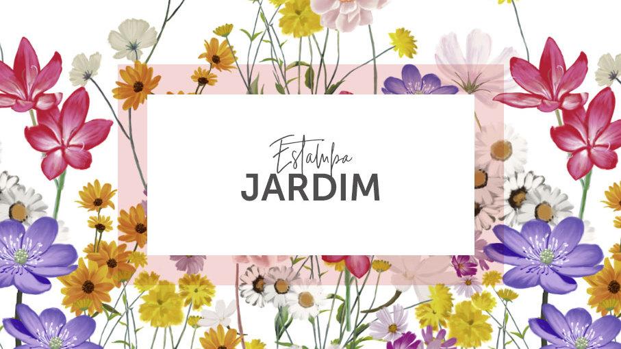 Jardim - Estampa Barrada