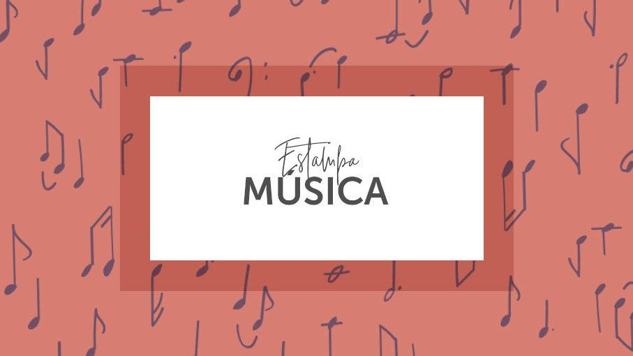 Estampa Música