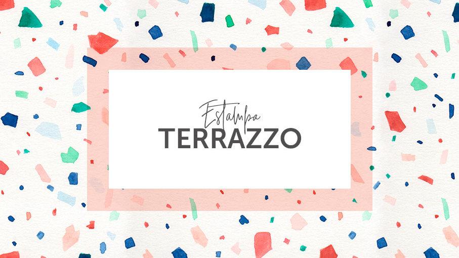 Estampa Terrazzo