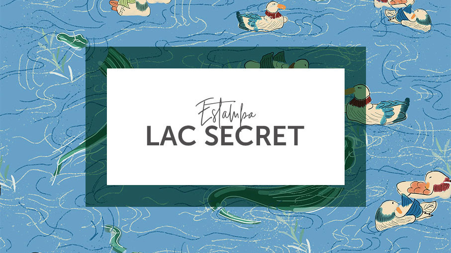 Estampa Lac Secret