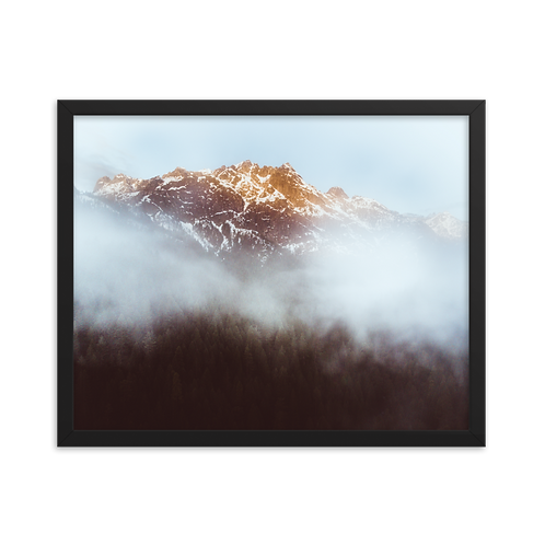Castle Crag framed print