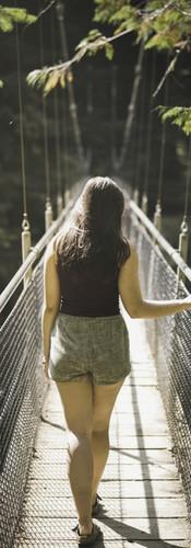 Ssupension Bridge Portrait