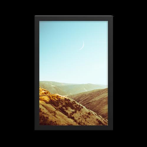 Moon Rise Framed print