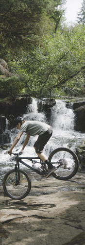 Oregon MTB Waterfall