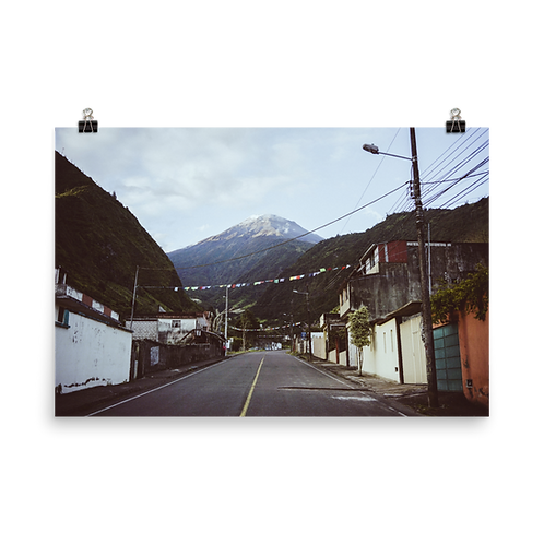 Volcan Tungurahua poster