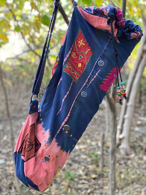 Upcycled Embellished Denim Jacket