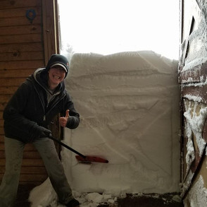 April 2018 - Record Blizzard, Horses And What I've Learned