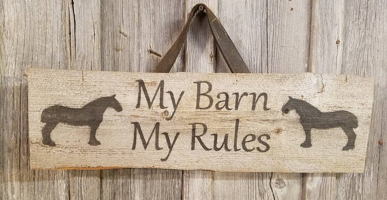 Some Very Simple Truths About Barn Rules