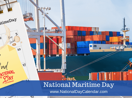 NATIONAL MARITIME DAY – May 22