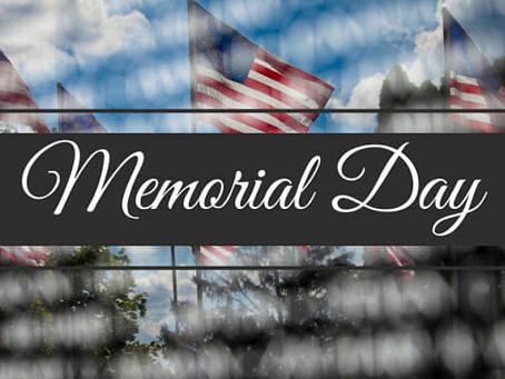 Memorial Day 2020