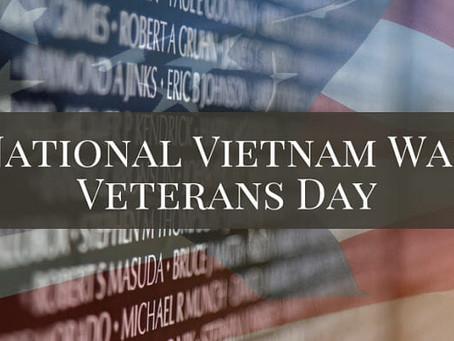 National Vietnam War Veterans Day 2020