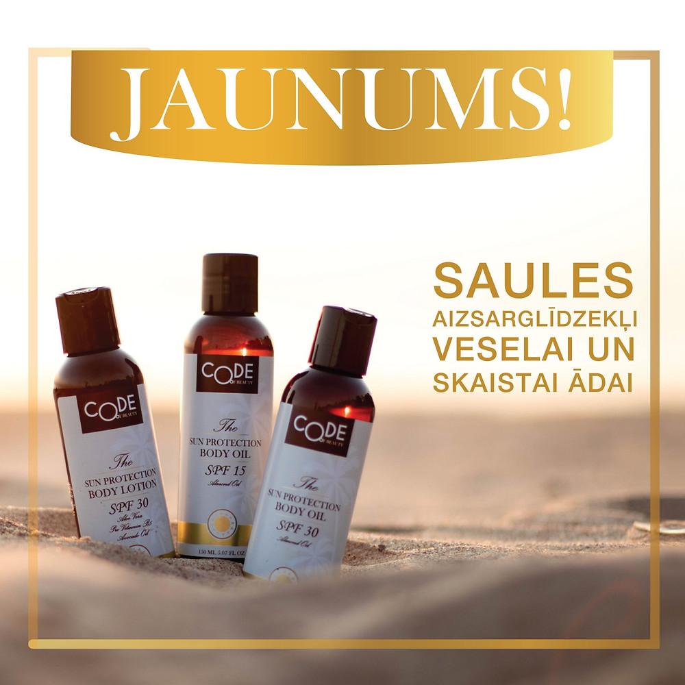 sun protection body oil
